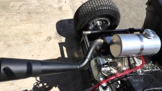 Road Rocket Gokart with a Titan Crate Engine Start the Engine