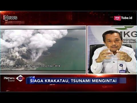 BMKG: Anak Krakatau Siaga, Warga Diminta Waspada Tsunami - iNews Sore 27/12