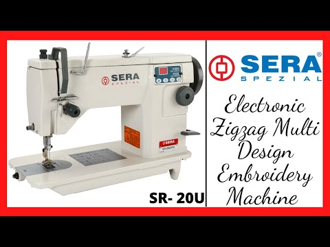 Electronic Multipurpose Zigzag Sewing Machine