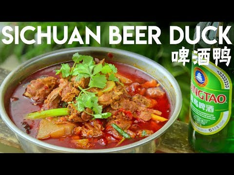 Spicy Beer Duck Stew Sichuan-style