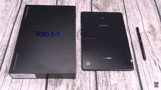 Samsung Galaxy Tab S4 10.5 - Unboxing and First Impressions