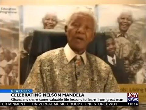Celebrating Nelson Mandela - News Desk on JoyNews (18-7-18)