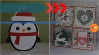 Handmade Christmas Crafts - Homemade Christmas Gifts - Craft Ideas For Christmas