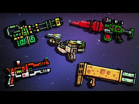 Weapons with Skins #2 - Pixel Gun 3D Gameplay