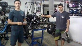 Kart Cross Construção Artesanal FASE 28 - Sistema De Direção