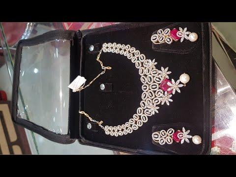 Exclusive Diamond Necklace Set Designs With Price