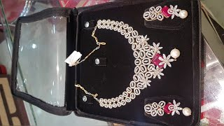 Exclusive Diamond Necklace Set Designs With Price