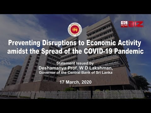 Preventing Disruptions to Economic Activity amidst the Spread of the COVID-19 Pandemic
