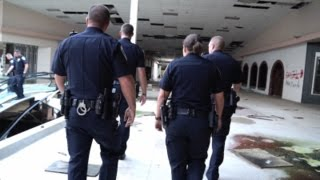 DEAD MALL SERIES : Rolling Acres Mall : BUSTED BY AKRON POLICE!! (DEMOLISHED)