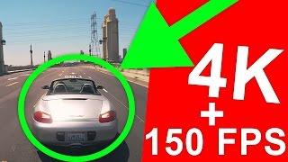 КАК ИГРАТЬ в 4K + 150 FPS ?!!