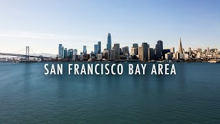 Flying Over The San Francisco Bay Area | 4K Aerial Film