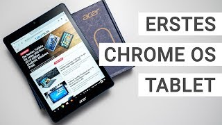 Acer Chromebook Tab 10 Unboxing: Erstes Chrome OS Tablet  | Deutsch