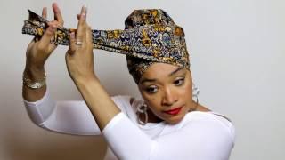 Easy Head Wrap & Turban Tutorial #1| Subscribe | Share |Quick Hijab Tutorial | Headwraps |TWA Styles