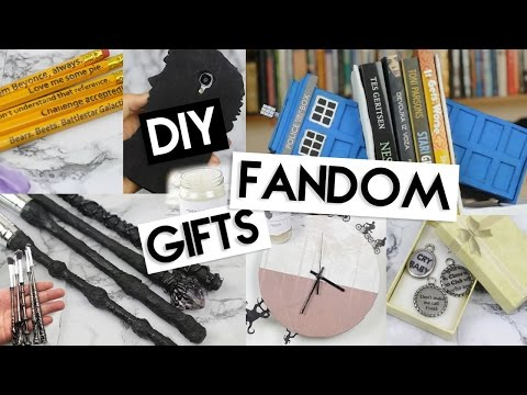 DIY (Last Minute) Fandom Gifts!