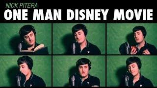 """""""One Man Disney Movie"""" Nick Pitera - Disney Medley"""