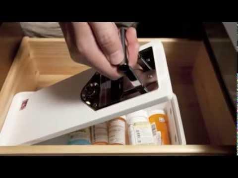 Medicine Safe with Barrel Keys