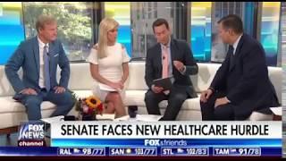 Sen. Cruz on Fox and Friends - July 21, 2017
