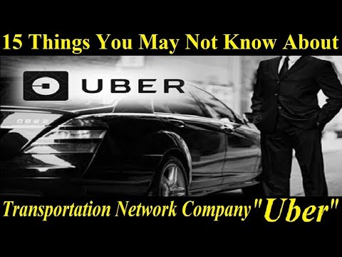 "15 Things You May Not Know About ""Uber"" 