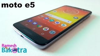 Motorola Moto e5 Full Review and Unboxing