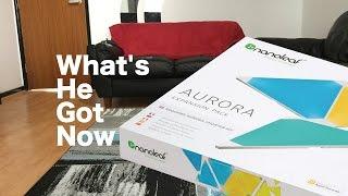 Nanoleaf Aurora Expansion Pack Unboxing + Setup
