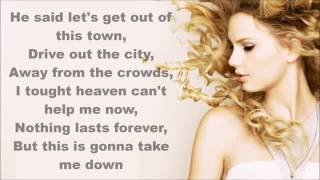 Taylor Swift  Wildest Dream  (lyrics )