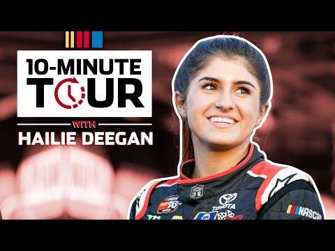 10-Minute Tour: Hailie Deegan guides us through the K&N garage
