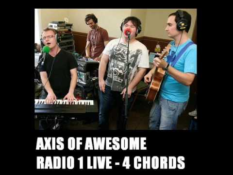 Axis Of Awesome 4 Four Chord Song Avi