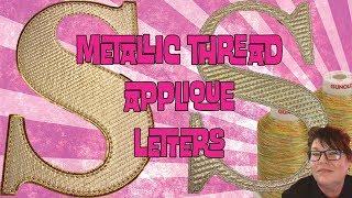Machine Embroidery Applique Tutorial (digitize&stitch)