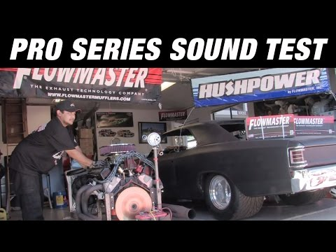 Flowmaster Pro Series Muffler Sound Test