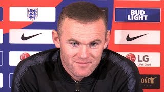 Wayne Rooney Pre-Match Press Conference - England v USA - Says It Feels 'Great' To Be Back In Squad