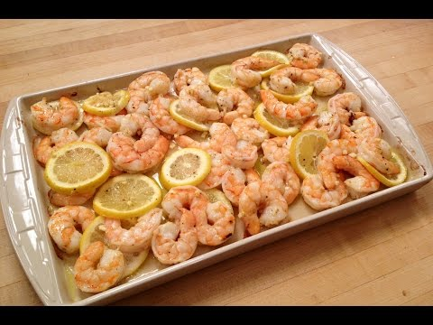 Video How to Make Roasted Shrimp with Lemon & Garlic (recipe included)