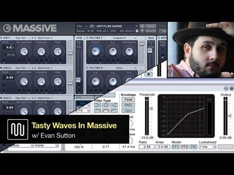 Massive Tutorial - Sound Design w/ Native Instruments: Tasty Bass Waves