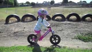 Melody and Her Strider Bike