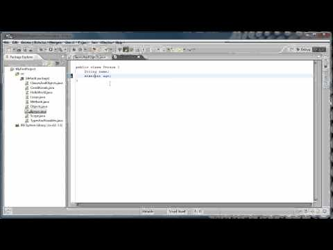 Java Programming: 9 – Classes and Objects