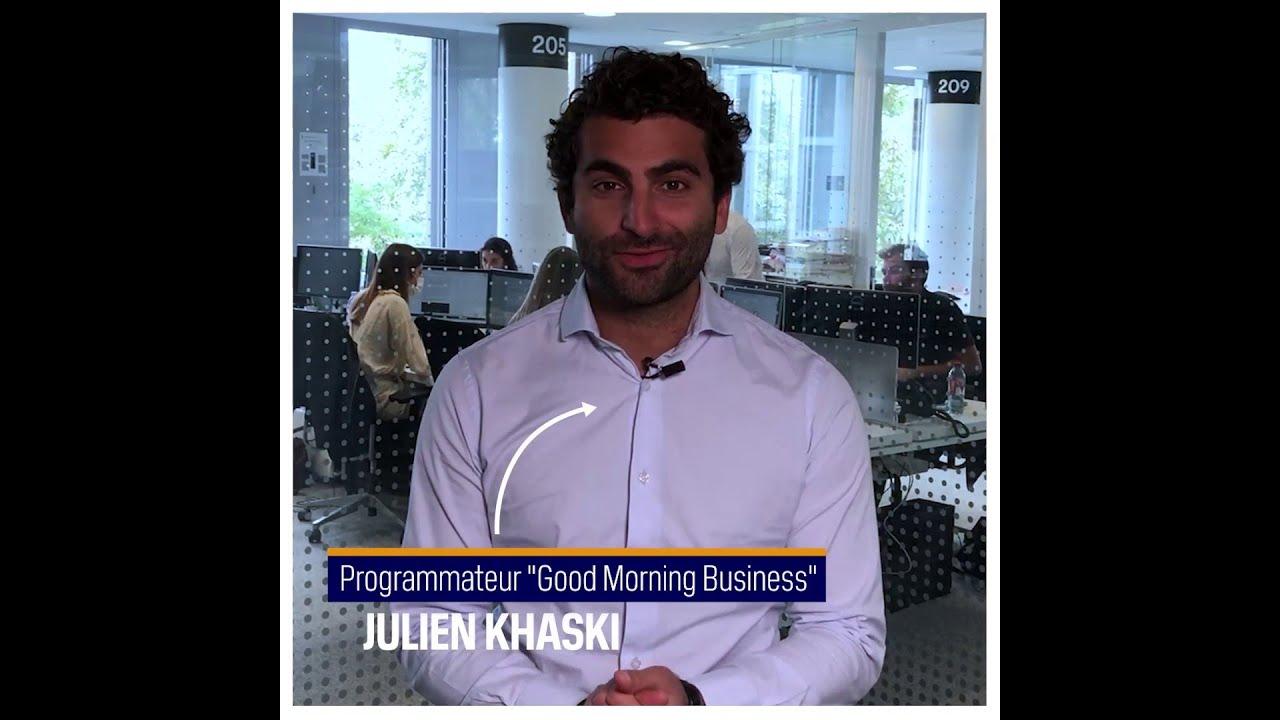 Inside : Julien Khaski, journaliste programmateur BFM Business