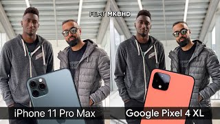 Google Pixel 4 XL vs Apple iPhone 11 Pro Max Camera Test Comparison
