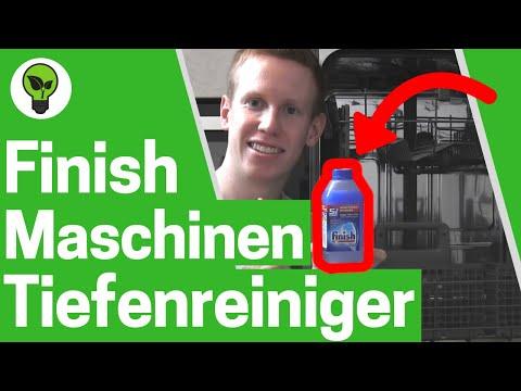Finish Maschinenpfleger für Geschirrspüler ✅ ANLEITUNG: Spülmaschinenreiniger zum Entkalken!!!