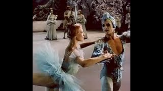 Natalia Makarova as Princess Florine and Valery Panov as the Bluebird ('Sleeping Beauty' 1964)