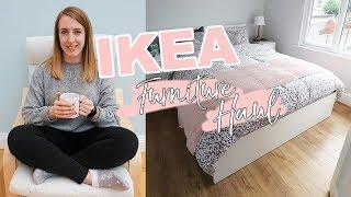 IKEA FURNITURE HAUL | Hemnes, Malm, Flekke & more! (Plus: Sneak Peak of my house!!)