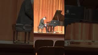 Bartók Romanian Dances, Chopin Nocturne Op. 9 No. 1.  Max Kreeger.
