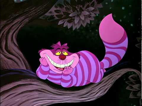 Peluche chat du Cheshire d' Alice aux Pays des merveilles Disney Store Neuf