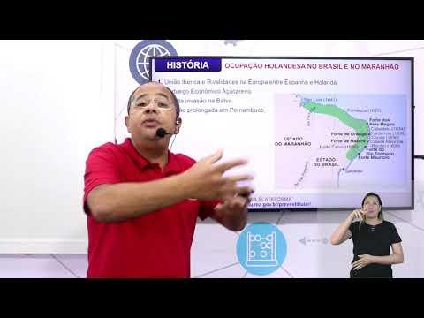 Aula 09 | Ocupação Holandesa no Brasil e no Maranhão - Parte 01 de 03 - História