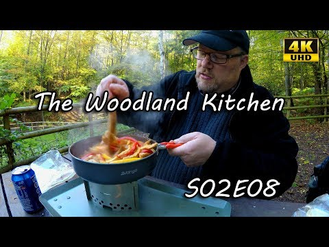 The Woodland Kitchen S02E08: Pork Fajitas - Trangia Triangle
