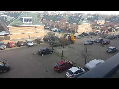 Bijzonder autotransport in Maassluis