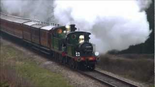 preview picture of video 'Bluebell Railway East Grinstead Opening Part 3'