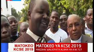 Shule ya upili ya Nairobi yasherekea baada ya matokeo mazuri katika mtihani wa KCSE 2019