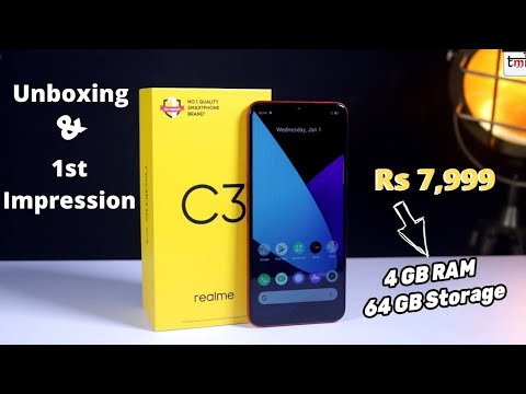 Realme C3 Unboxing and First Look: Is it a solid device for Rs 6,999?
