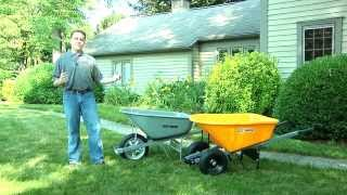 True Temper Dual/Single Wheeled Wheelbarrows