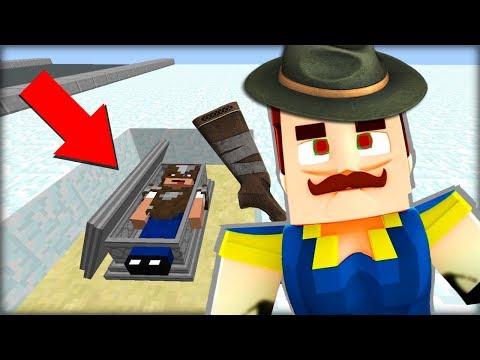LOVECKÝ Ahoj Sousede v Minecraftu ! ZBAVILI JSME SE NOVÉHO SOUSEDA!