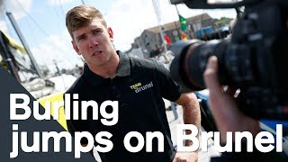 VOR: Peter Burling (NZL) reveals why he wants to sail the grueling race with Team Brunel - video